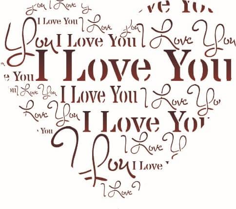 I Love You A4 6 Tjhoko Paint