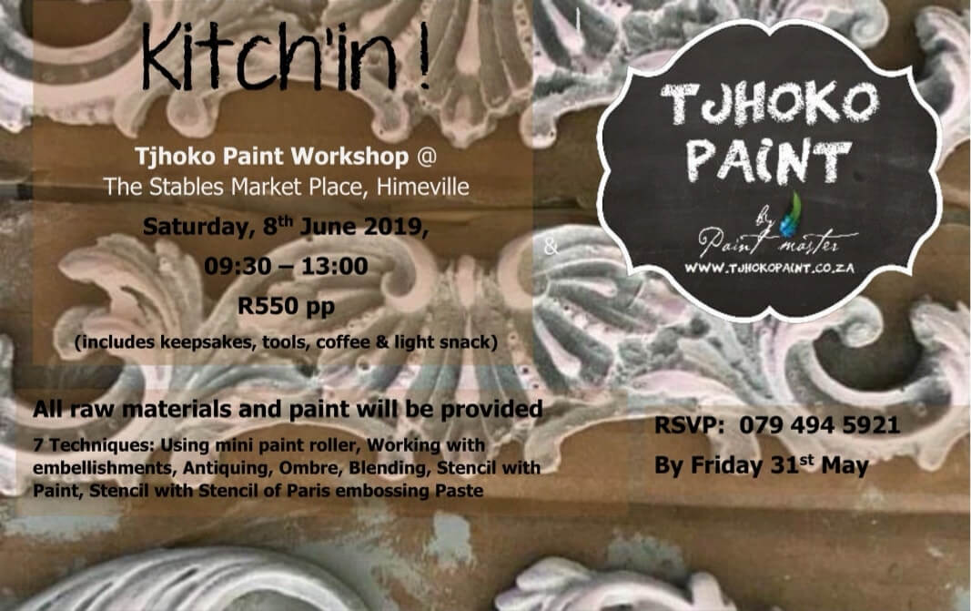 Tjhoko Paint Workshop in Himeville – 8 June