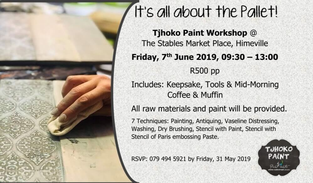 Tjhoko Paint Workshop in Himeville – 7 June