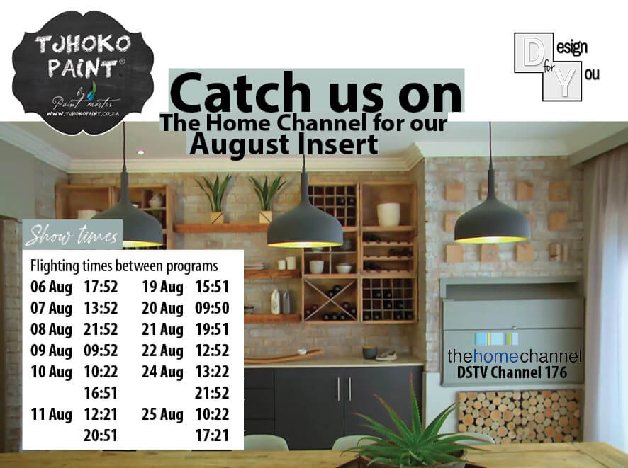 Home Channel – August inserts