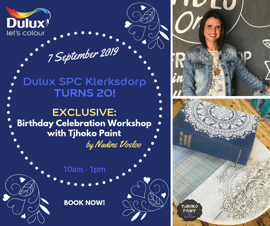 Tjhoko Paint Workshop with Dulux SPC Klerksdorp