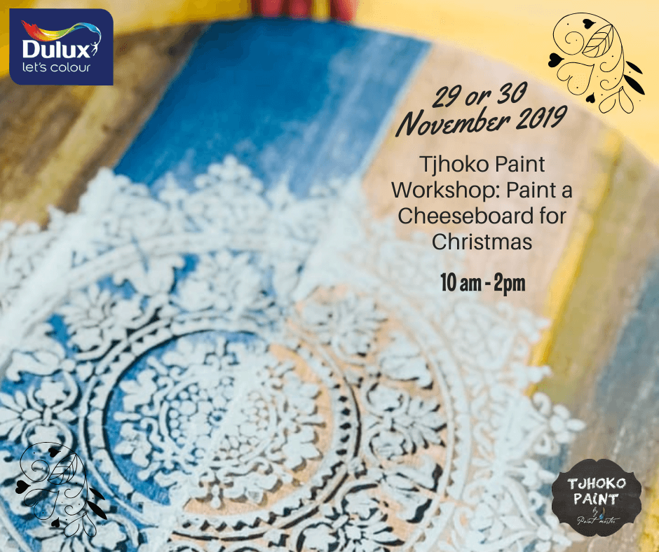 Christmas Workshop – Dulux Specialist Paint Centre Klerksdorp 29 or 30 November 2019